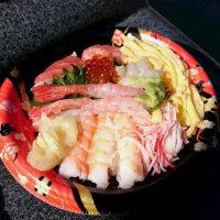 2月26日小腹がすいて昼・岩槻のヤオコーの海鮮丼