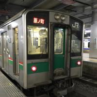 12月に開通した、常磐線の区間に乗って