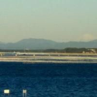 あれ浜名湖から富士山が