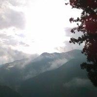 山の天気は移り気
