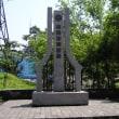 ウラジオストクの小さな石碑