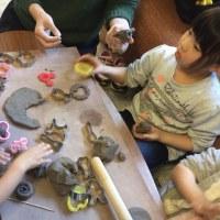 陶芸教室を行いました。