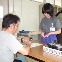 高等部校内作業実習の様子 軽作業班
