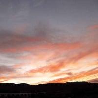 10月12日 朝焼けは悪天の兆しと言うけれど・・・