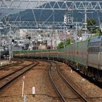 56レ「福山レールエクスプレス」をさくら夙川駅から