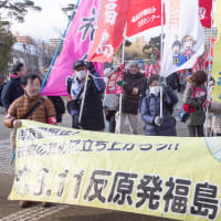 被曝と帰還の強制に怒り ーー3・11反原発福島行動17