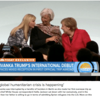 トランプ大統領と娘のイヴァンカ、シリア難民問題で一線画す。