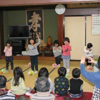 ◇いずみだい保育園と富倉地区交流会(茶話会)
