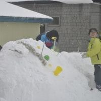 レインボーアートと雪だるま作りました