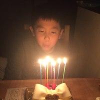 翔7歳のお誕生日