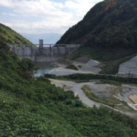 浅川ダム試験湛水10日目