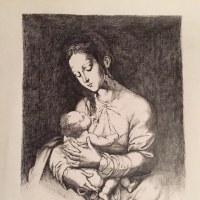 御母の乙女の胸に幼な子のちひさき手あり無垢の静けさ
