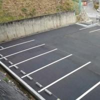 老人集会所跡の駐車場完成