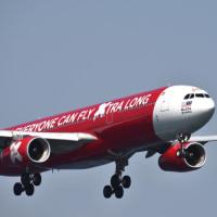 エアアジアグループLCCのエアバス A333の着陸‼️