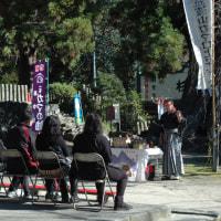 12月3日(土) 筑波山神社の風景 筑波山の紅葉は終わりに・・・・・。
