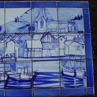 ☆石橋と青いタイル画その3