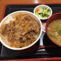 昭島・モリタウン フードコート (すき家)