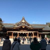寒川神社へ 遅ればせながら初詣