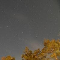 三寒四温の夜空