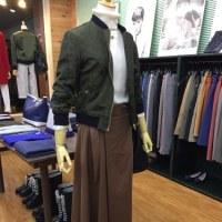 スカート+MA-1