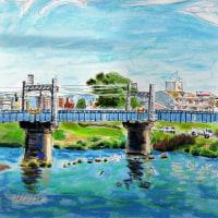 庄内川ー枇杷島橋袂