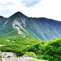 黒部源流の峰々 2日目 鷲羽岳