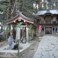 鷲子山上神社はパワースポットだ (その2) 県境の神社だ