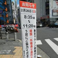 明日ですね東京マラソン