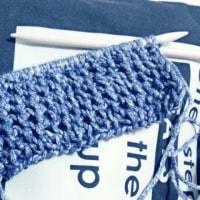 編み物始めました。