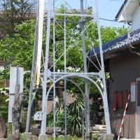 上田市古里の火の見櫓