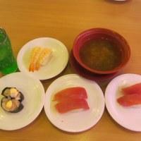 """いま、何かと話題の""""かっぱ寿司""""へ・・・"""