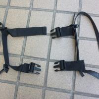 サイドバッグのバックル破損の修理