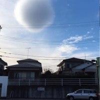 球形の雲 @日曜日の午後3時に湘南台