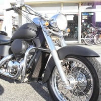 HONDA SHADOW MATT BLACK (NC34)