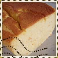 オレンジ風味のチーズケーキ♪