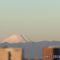富士山の上?