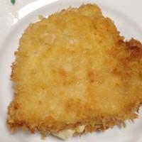 「鶏胸肉のパン粉焼き」と今が旬「ホワイトアスパラガス」