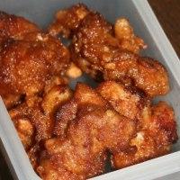 11月25日  葱玉炒飯にぎり&鶏の唐揚げ弁当