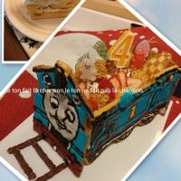 ●トーマス電車ケーキを作ろう!!●