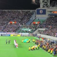 ワールドカップ最終予選 日本×サウジアラビア