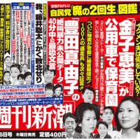 (週刊新潮)「豊田真由子」暴行、あの翌日も 〈物事にはねえ!裏と表があんの!!〉の怒声