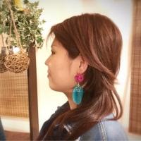 【香るアクセサリー】香珠codama〜世界でたった1つのアロマイヤリング〜精油付き♪アナ雪編