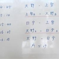 5/3の予定