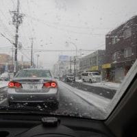 まだ雪が!