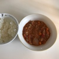 今日の離乳食(昼御飯)【200日目】