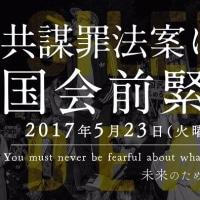 本日(23日)国会絵行動へ