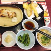 お昼とさつま芋10.25