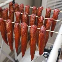 鶏ささみの燻製