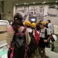 10/21(金)6年広島へ校外学習に行きました。