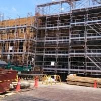 建設中の新消防庁舎を視察!6月14日(水)のつぶやき その1